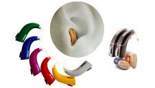 Assorted Phonak Hearing Aids.